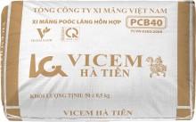 Xi măng Vicem Hà Tiên Portland hỗn hợp PCB40